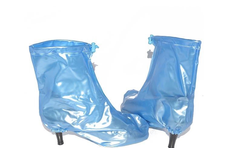 防雨鞋套女加厚底雨鞋时尚防水鞋套男女儿童