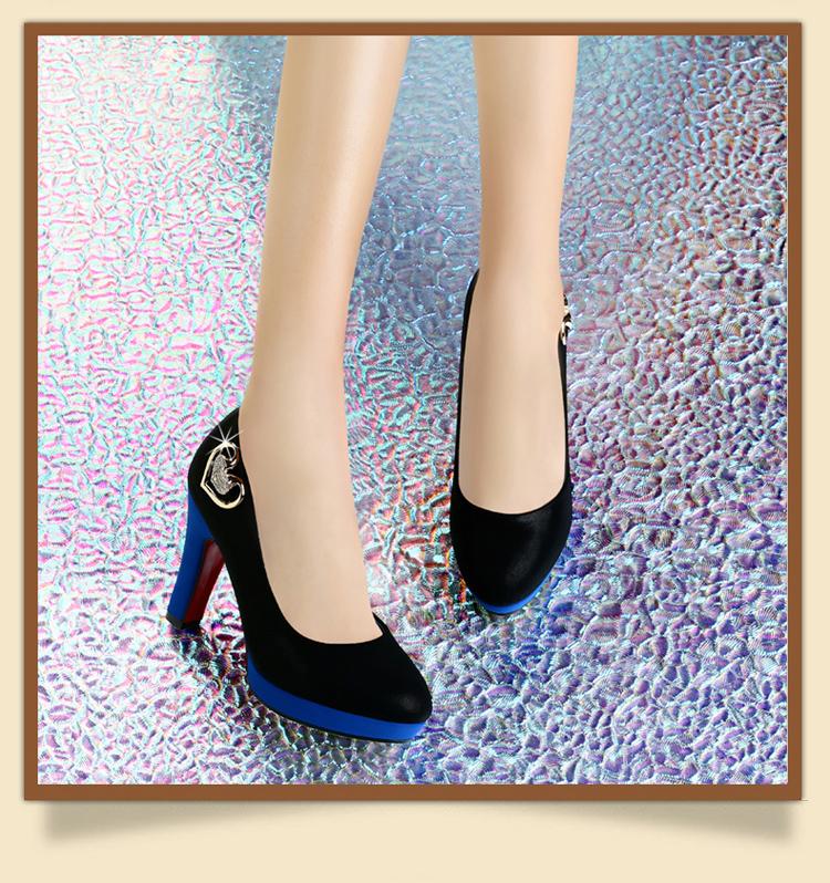 古奇天伦2014春季新款时尚女鞋