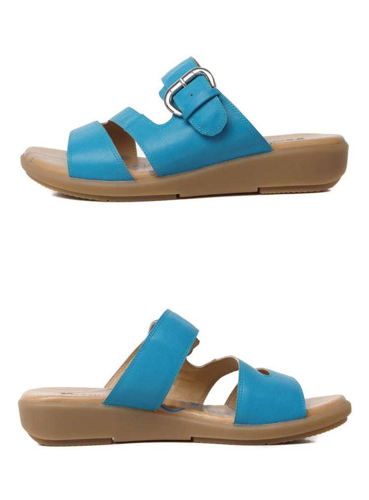 意尔康女鞋2014夏季新款时尚搭扣平底女凉鞋s452glw