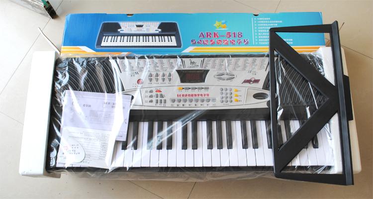 爱尔科电子琴54键电子琴多功能电子琴儿童乐器