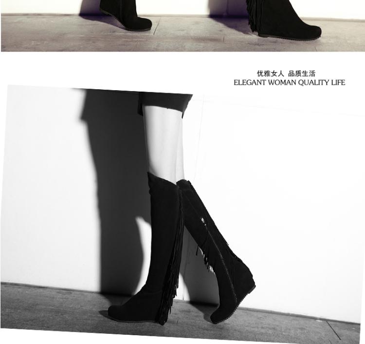 冬季女鞋时尚长靴子马丁靴子女
