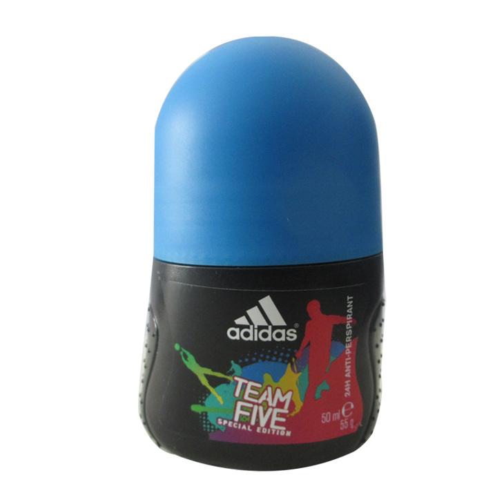 阿迪达斯Adidas 征服香水 五人团香体喷雾 五人团止汗走珠