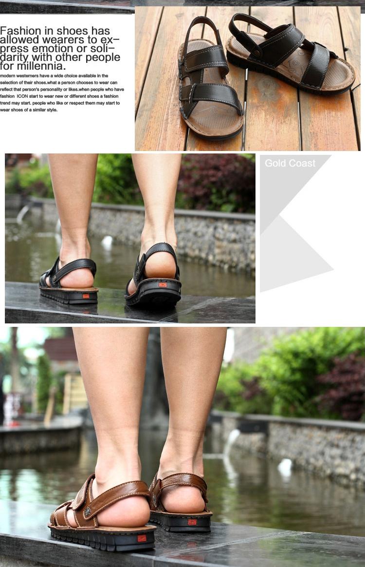 夏季时尚休闲男士凉拖鞋