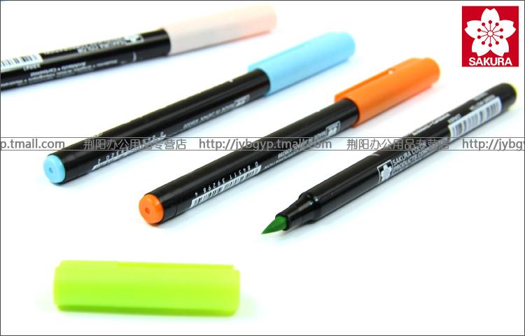 普通水彩笔或水性 水彩笔简笔画