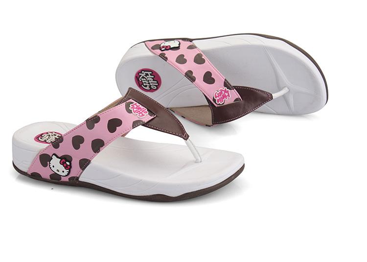 2014新款女拖鞋卡通正品凉鞋女夏季