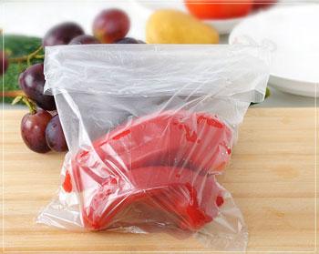 4. 最好使用无色透明的保鲜袋.