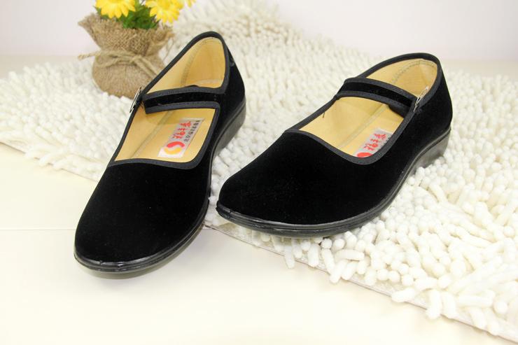 福丰泰老北京布鞋 女服务员工作鞋