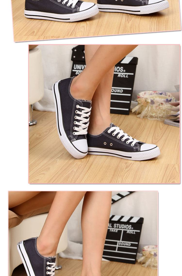 经典情侣帆布鞋 百搭学生鞋夏季小清晰情侣款硫化鞋