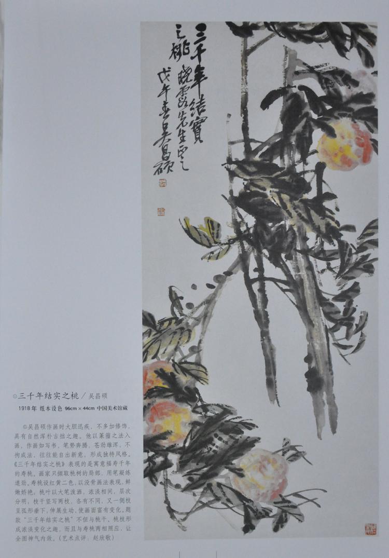 中国现代花鸟画全集 中国花鸟画16开彩色精装四卷 原价380元 正版