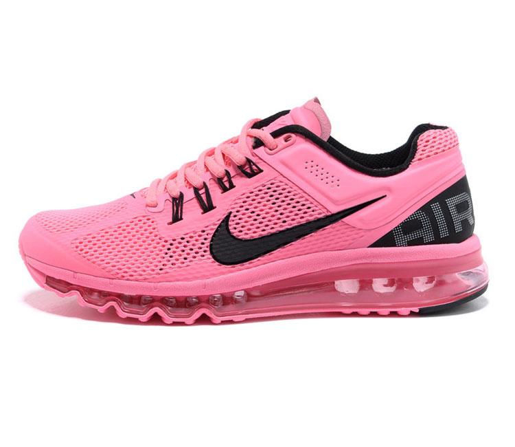 耐克女鞋 air max2013系列气垫透气休闲跑鞋