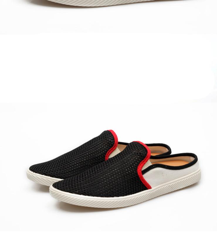 2013夏季男式网布拖鞋半拖鞋透气日常休闲拖鞋居家