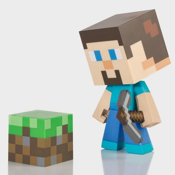 官方授权J!NX MineCraft 漫能我的世界史蒂夫玩