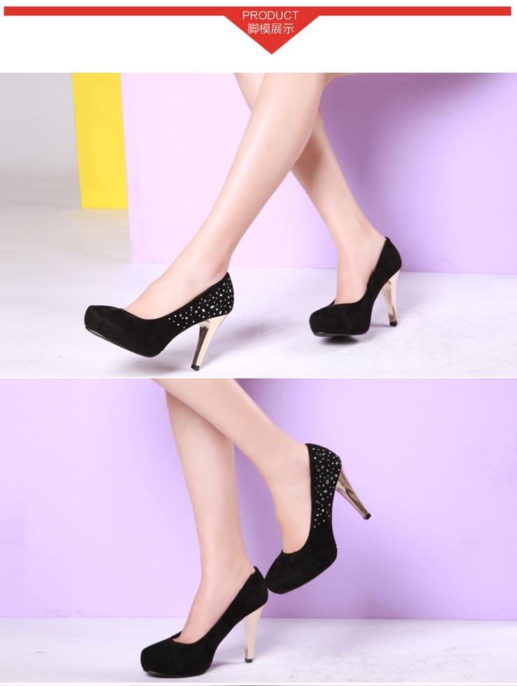 戈美其女鞋浅口女单鞋