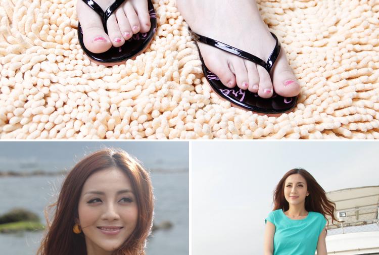 2014夏女人字拖沙滩鞋防滑拖鞋女平底舒适夹脚凉拖鞋