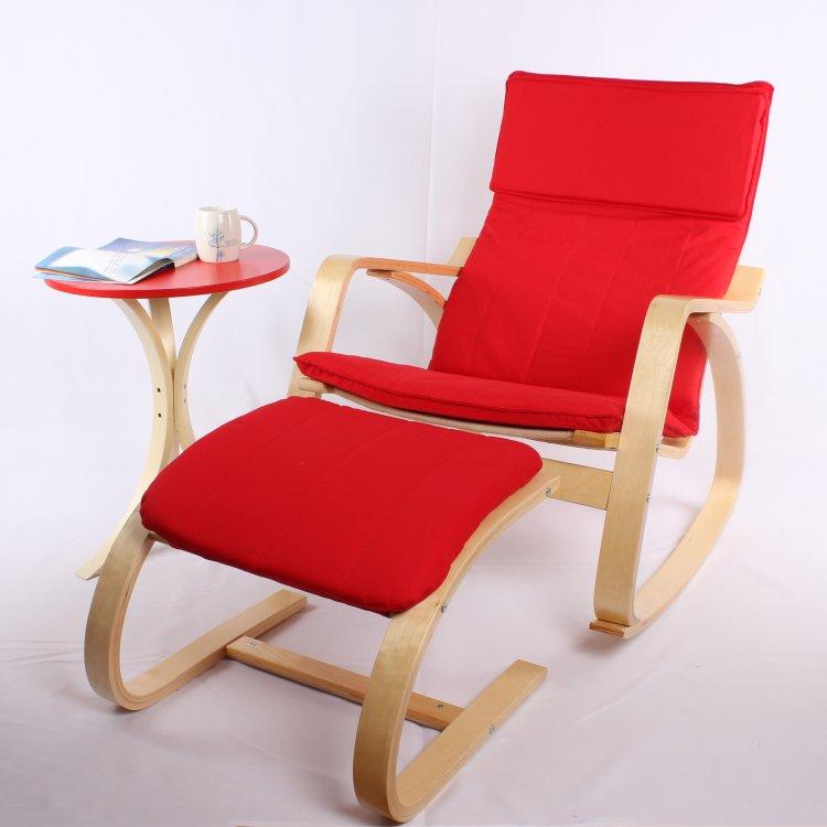 un wood摇椅脚踏实木曲木工艺休闲椅脚踏宜家款家具A008怎么样