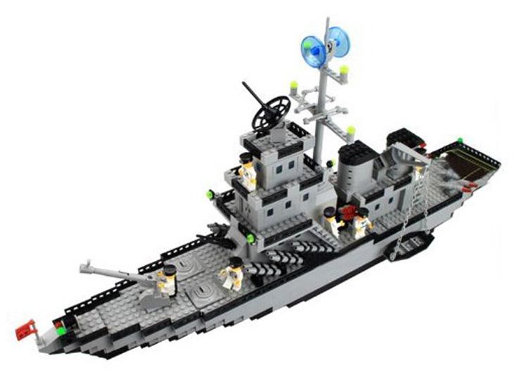 v战舰乐高式超大拼插巡洋战舰112塑料益智拼41497lego图纸图片