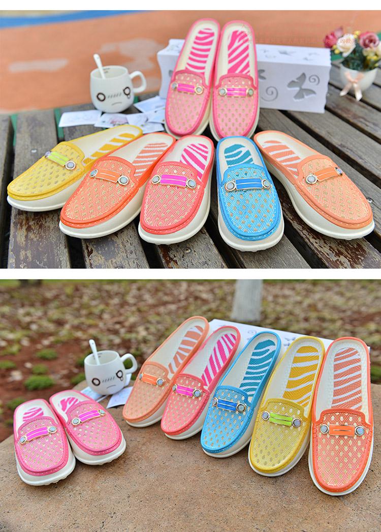 女夏季凉拖鞋 平跟女凉拖沙滩鞋室外拖鞋防滑沙滩凉q