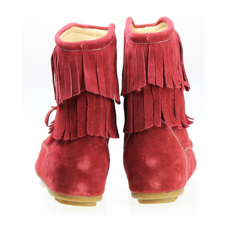 正品流苏休闲女鞋