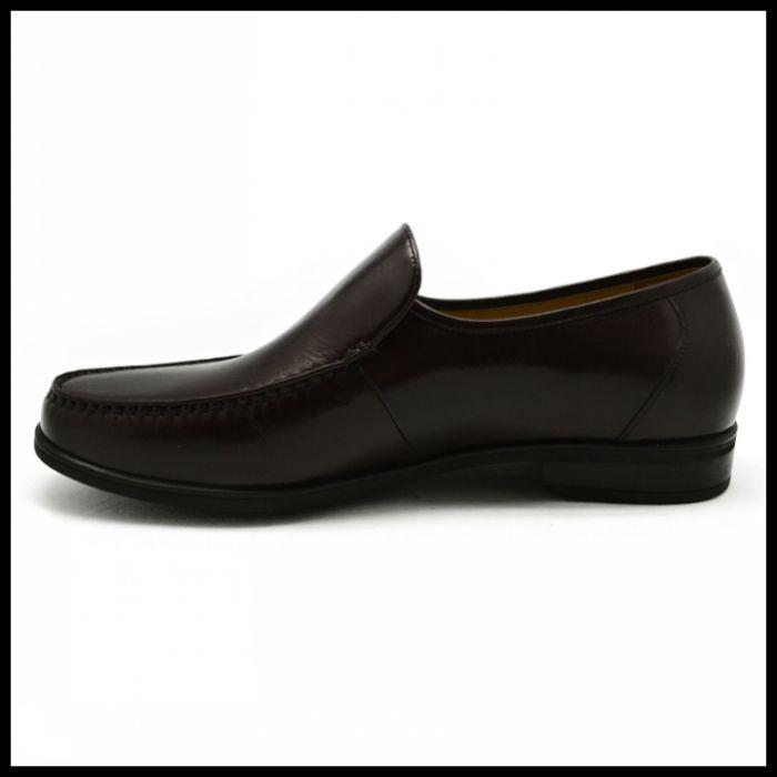 金漆羊皮皮鞋