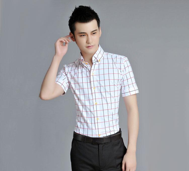 短袖衬衫 男士