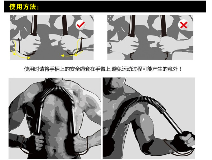 臂力器锻炼全部图解的报道近况介绍