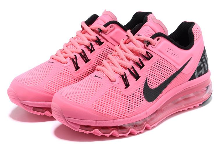 耐克air max2013系列气垫透气网面女鞋休闲跑鞋