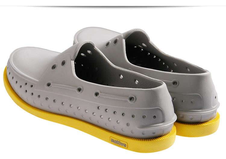 潮牌休闲洞洞鞋帆船鞋凉鞋
