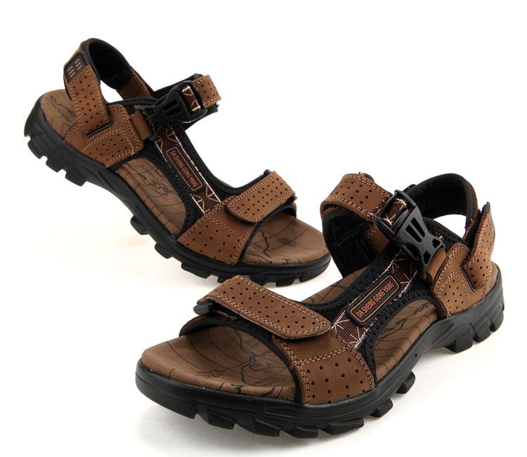 男凉鞋男士休闲沙滩鞋正品男式凉拖鞋男款