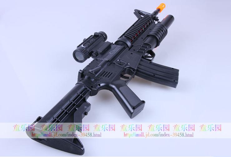 m4a1玩具枪结构图