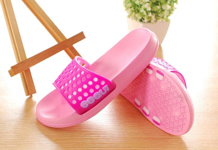 夏季情侣凉拖鞋女居家拖鞋韩国室内塑料洗澡防滑浴室