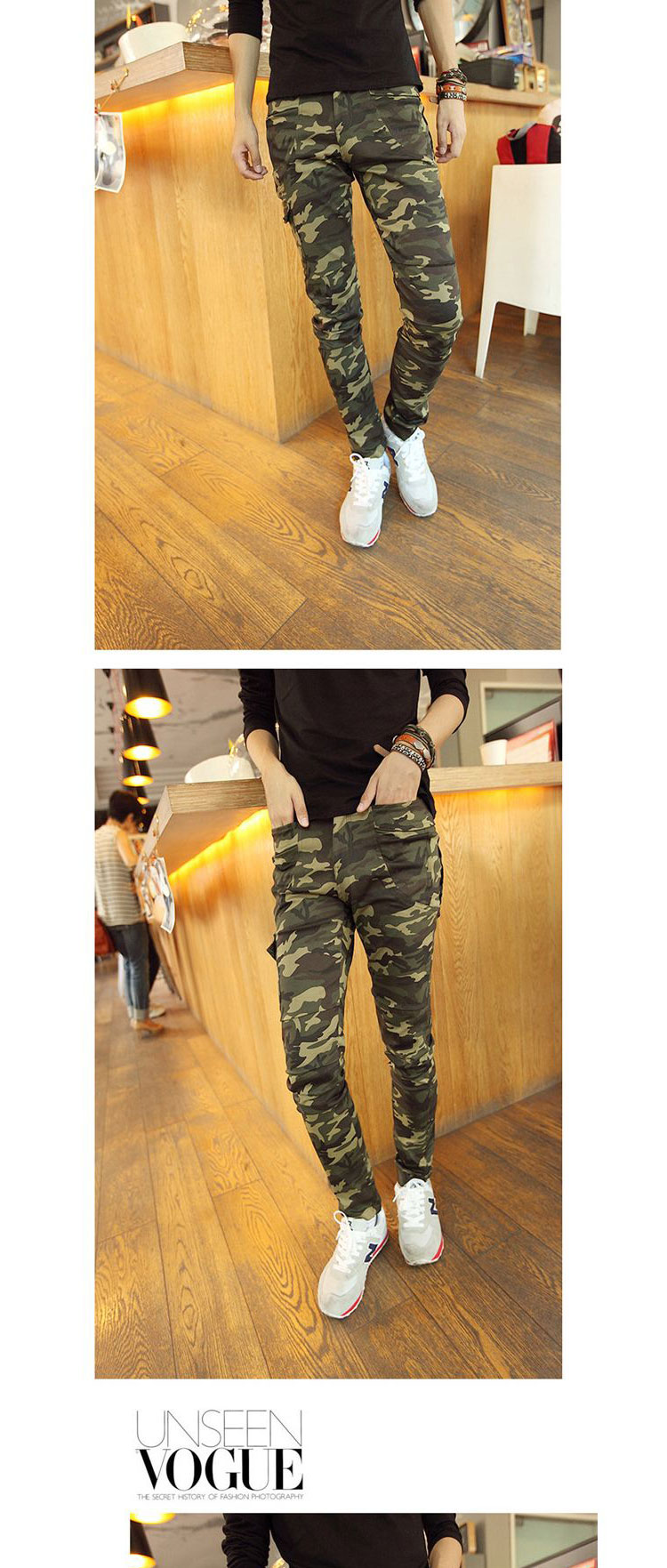韩版时尚弹力小脚裤
