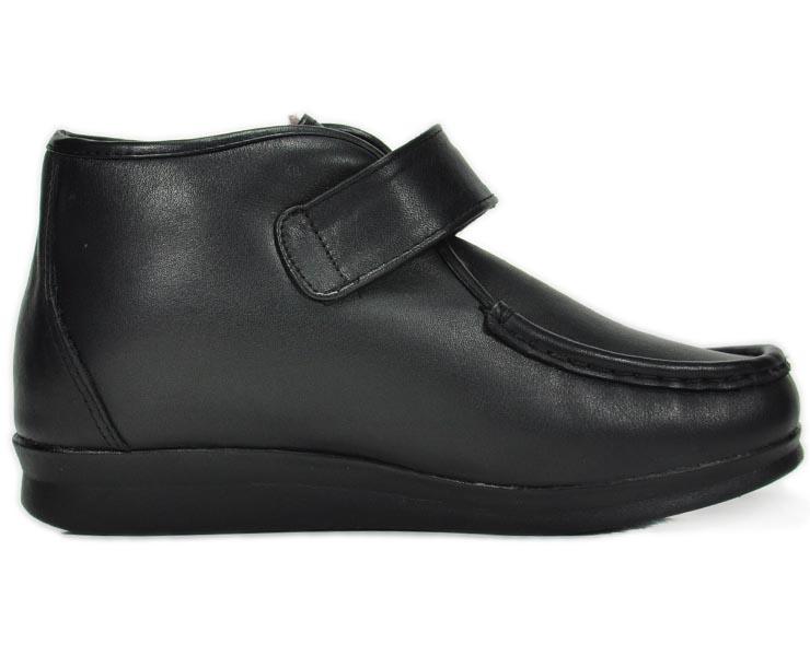 内联升女鞋牛皮棉鞋冬季保暖舒适休闲老北京布鞋b