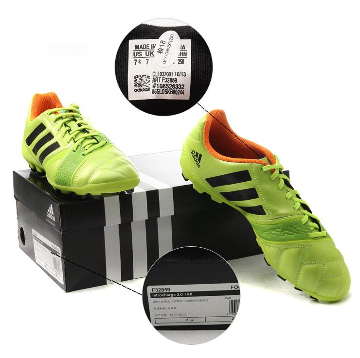 阿迪达斯adidas男鞋ag狂战士桑巴战靴足球鞋2014新款
