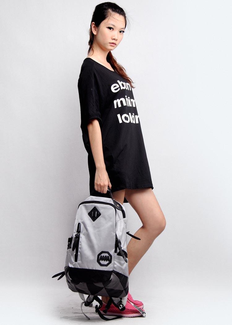 木村原宿正品牌背包韩版时尚情侣旅行包男女学生书包