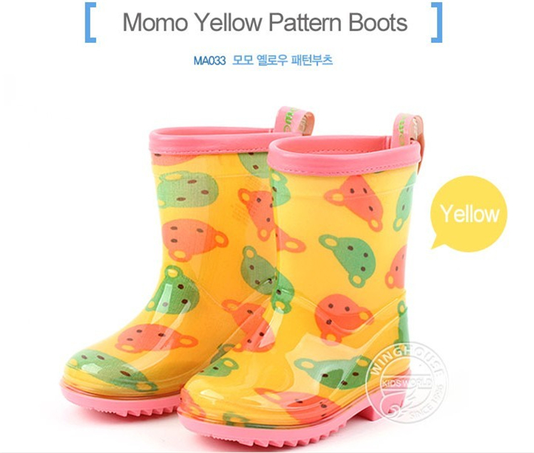 学生宝宝幼儿童雨鞋雨靴