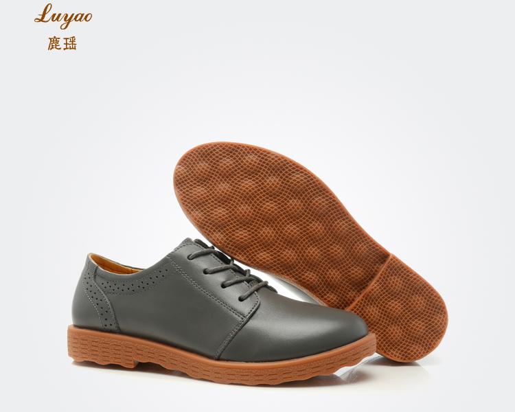 平跟单鞋女皮鞋