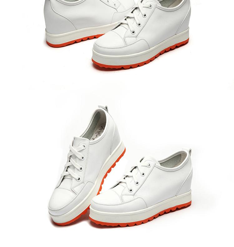 内增高女鞋时尚深口单