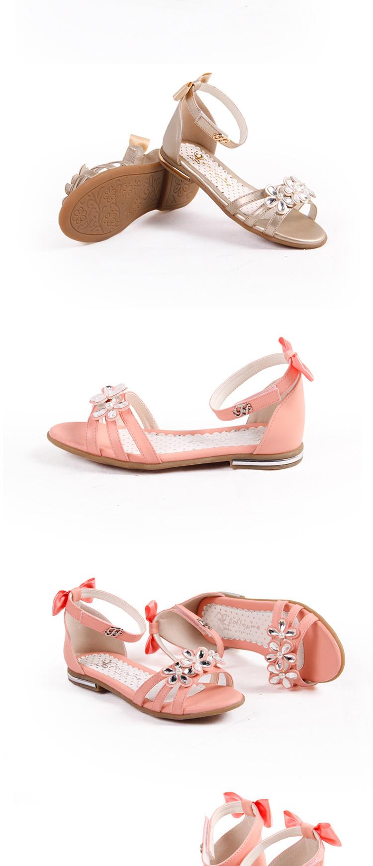 富罗迷女童凉鞋 女大童儿童凉鞋2014夏季新款韩版