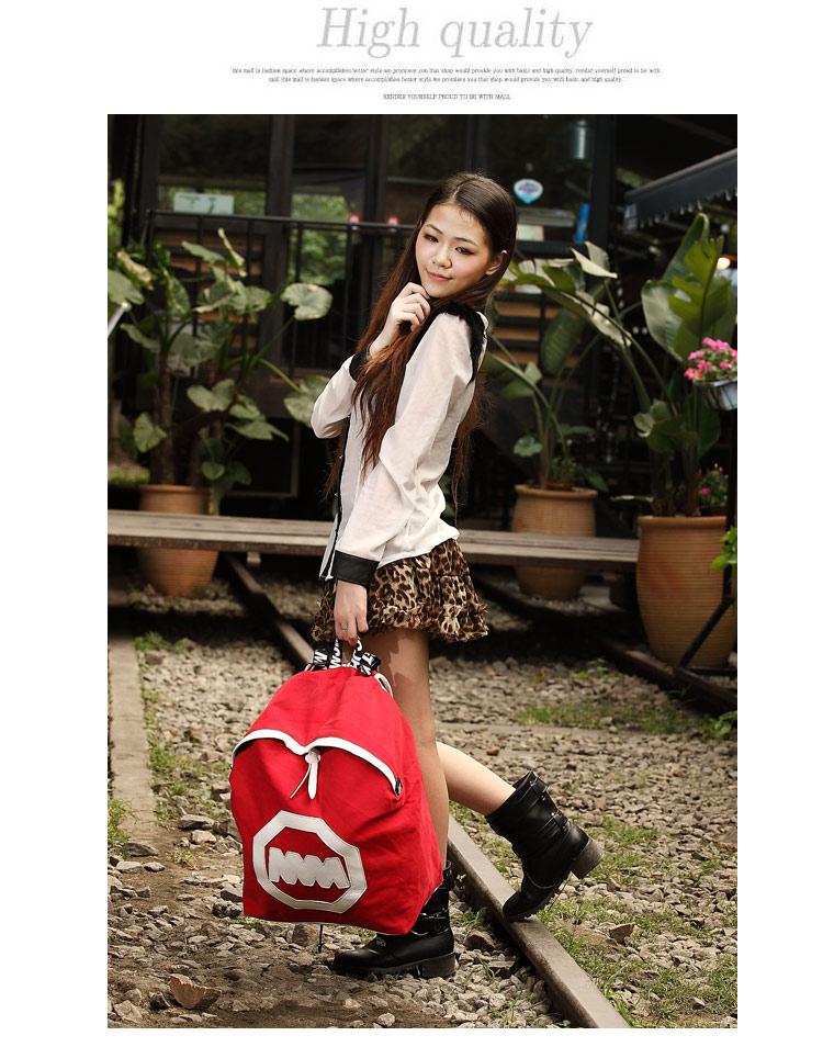 木内双肩包男背包女大容量旅行包休闲运动包日本韩版