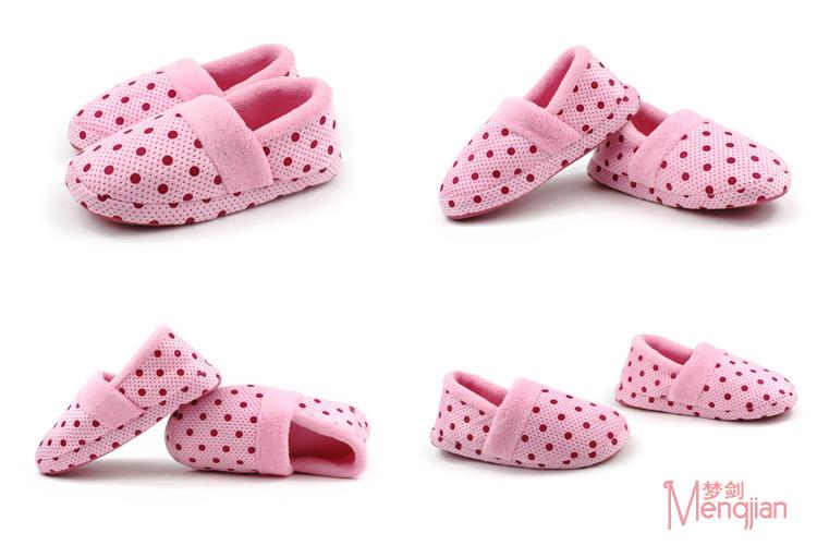 可爱船型拖鞋毛茸茸拖鞋女生拖鞋