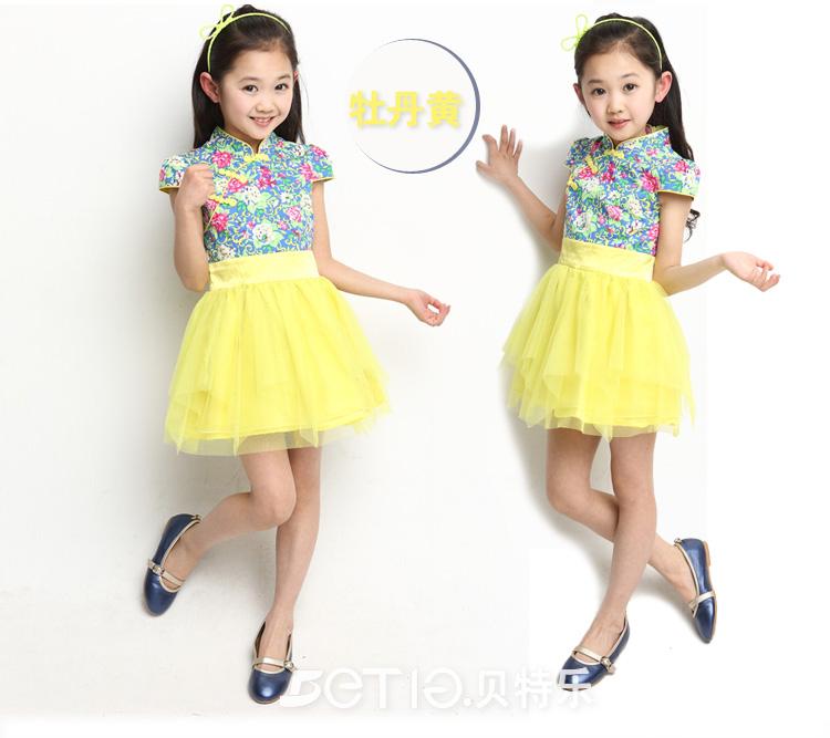 女童连衣裙 夏装