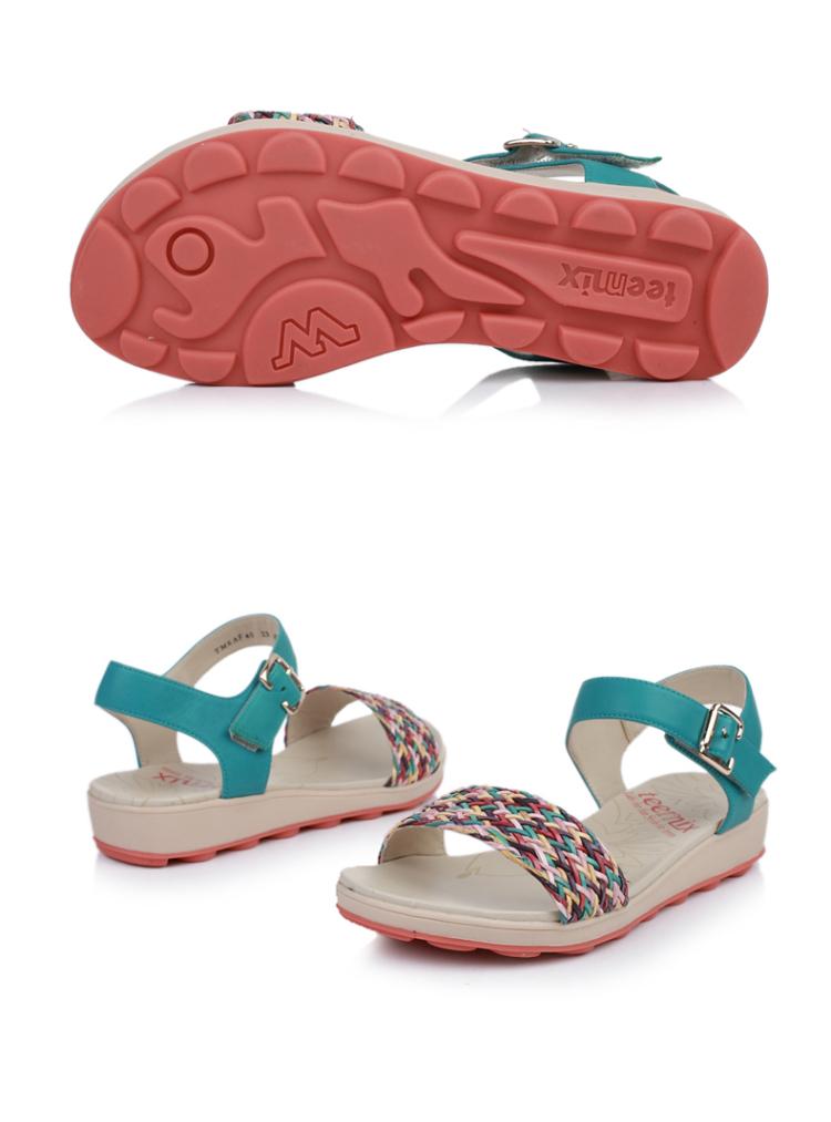 皮凉鞋6af40bl3女凉