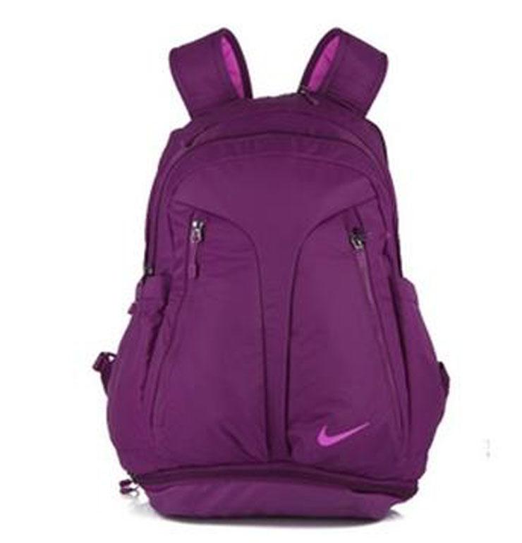耐克双肩包紫色