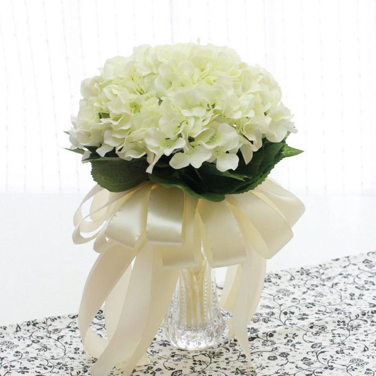 华卡通花束新娘手捧花韩式绣球婚礼创意结婚用品花束个性手捧花