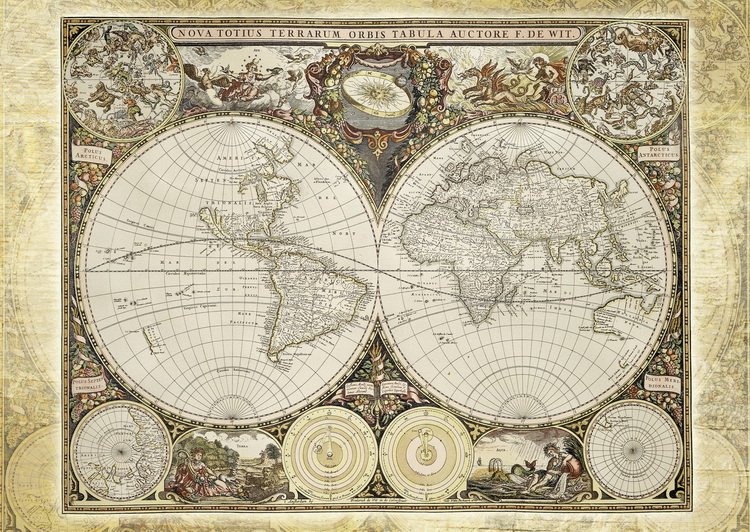 古代世界地图