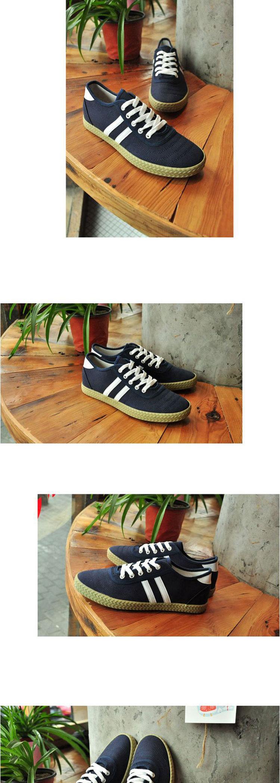 男板鞋舒适透气帆布鞋