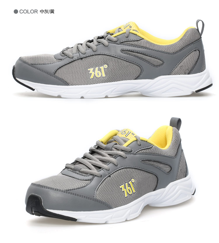 【】361°361度男鞋透气轻便跑鞋