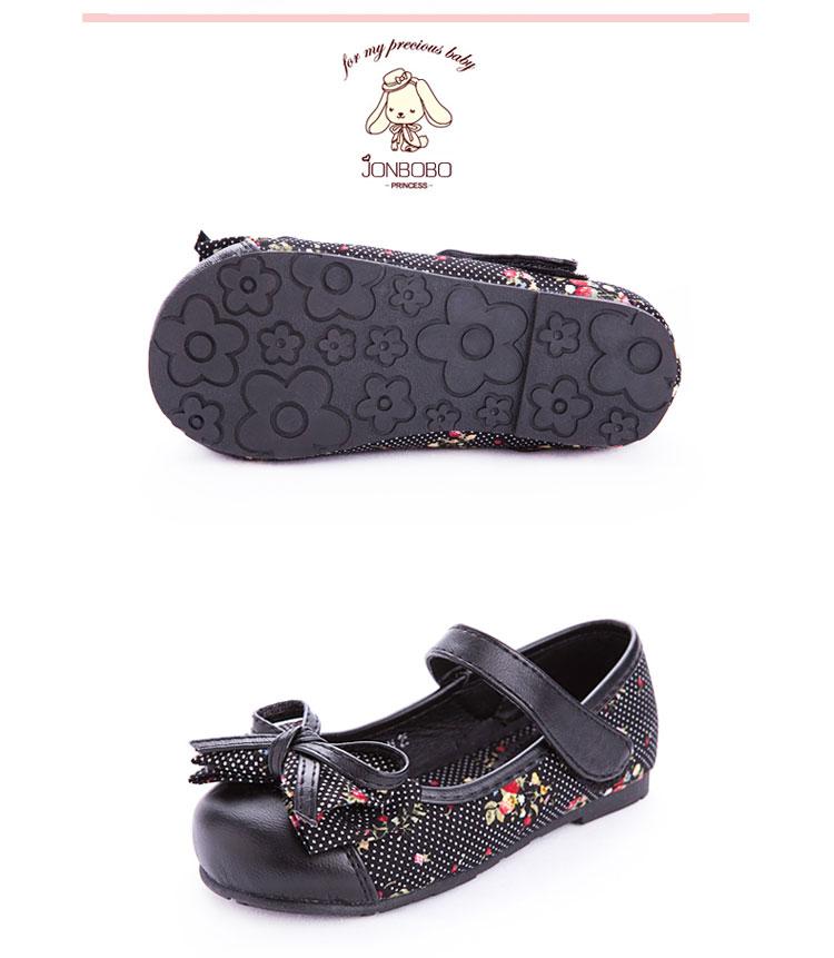 jonbobo童鞋女童 2014春新款女童单鞋