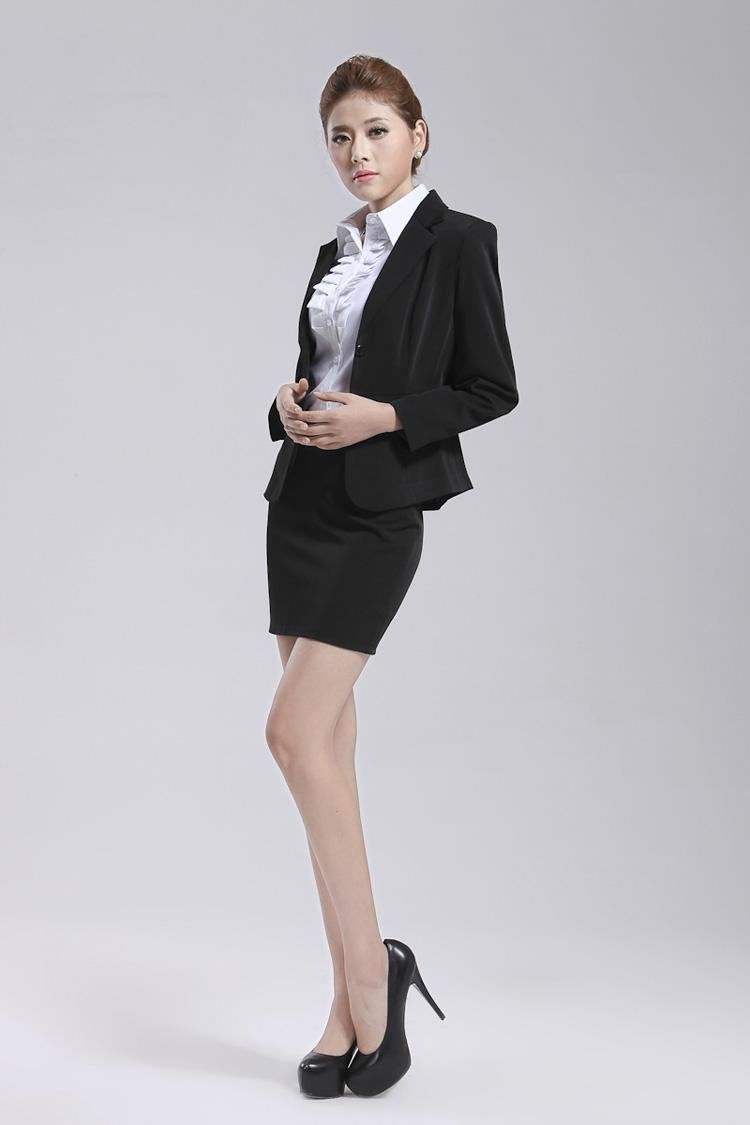 装新款韩版修身收腰白衬衫衬衣长袖职业装大码女8015