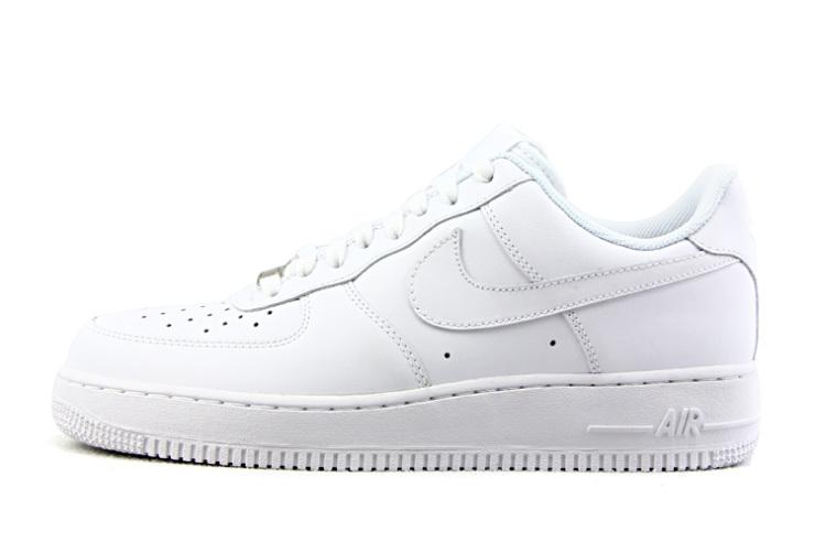 耐克(nike)板鞋男鞋 纯白airforce1空军一号低帮-111